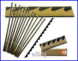 144pc1grs # 3/0,4/0,5/0,2/0,2 Swiss Vallorbe Pike Jewelers Saw Blades Engraving