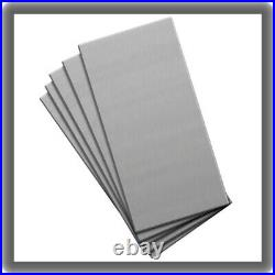 2 X 4 Practice Plates, Mild Carbon Steel, 16 ga, 5 Pack GRS #001-639