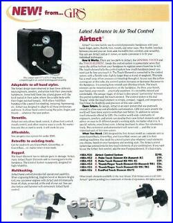 Airtact Pneumatic Handpiece Control System, GRS ITEM #004-935