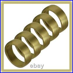 Engraving Brass Practice Ring, Dome, 5 Pack GRS ITEM #001-953