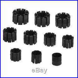 GRS 004-705 REPLACEMENT COLLETS Set of 10 for GRS ID RING HOLDER 004-735
