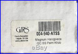 GRS 004-940-ATSS Magnum Airtact Handpiece With Stainless Steel Knob