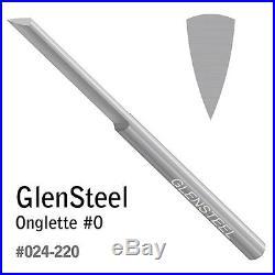 GRS 024-220 GlenSteel Onglette Graver #0