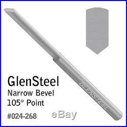 GRS 024-268 GlenSteel Narrow Bevel Graver 105