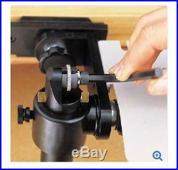 GRS BenchMate Inside Ring Holder with 19 collets, extender and sliding stand