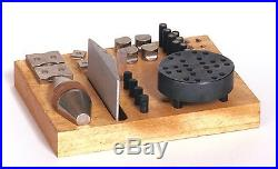 GRS Engraver's Block Ball Vice with Accessories & 30-piece Attachment Set