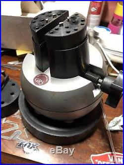 GRS Engravers 5 Inch Ball Vise with accessories