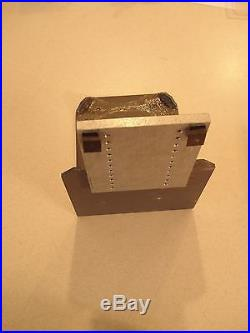 GRS Engraving Block Shelf, Adjustable Bracket and Unknown Bench Angle Bracket