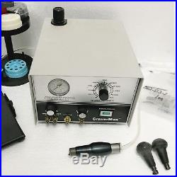 GRS GRAVERMAX ENGRAVING TOOL WITH ONE HANDPIECE QC 710 Handpiece and extras