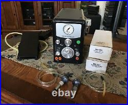 GRS GRAVER MACH withProgressive Pedal, Custom Knobs, 901 & Monarch Hand Pieces