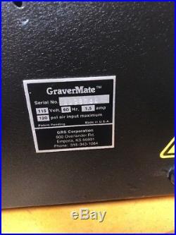 GRS GraverMate Engraver Machine + Accessories