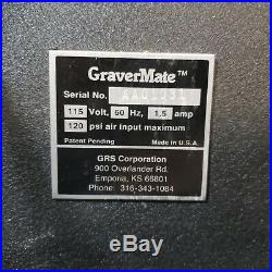 GRS GraverMate with Handpiece Works Perfectly