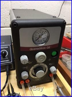 GRS GraverMax G8 withGraver Handpiece, Hammer Handpiece, and Set of Gravers