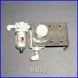 GRS GraverMax, Progressive Foot Control, and Precision Remote Air Regulator