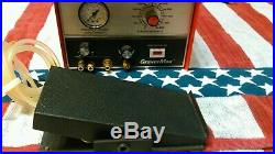 GRS GraverMax & foot throttle (pedal). Engraving tools. American made