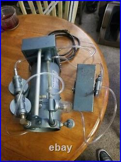 GRS GraverMeister, handpiece, and pedal. Working conditions