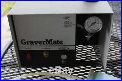 GRS Graver Mate Max Pneumatic Impact Engraving Machine With Impact Handpiece