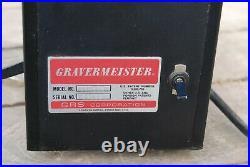 GRS Gravermeister GF 500 hammer hand piece foot pedal engraver jewelry