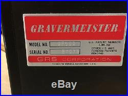 GRS Gravermeister Model GF500 System