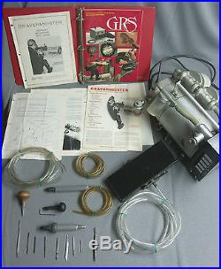 GRS Gravermeister Model GF500 System + Bulino, Standard, and Large Handpieces