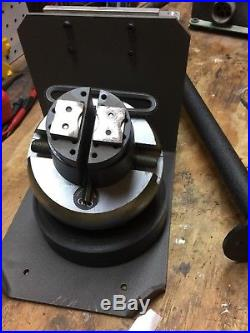 GRS Large Egravers Vise Stand With Shelf Support And Mounting Adapter Engraving