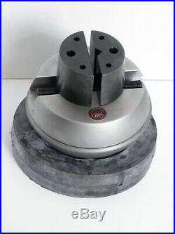 GRS Low Profile Ball Vise and Turntable Base with Shelf for Engraving