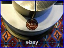 GRS MAGNABLOCK ENGRAVING Ball/Block Vise, Engraver Tool, watch repair, Oak Case