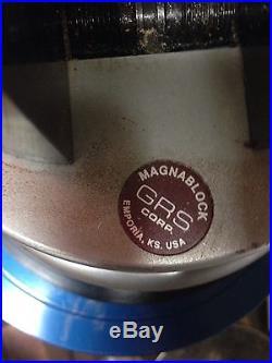 GRS MagnaBlock Engraving block, turntable and bench base