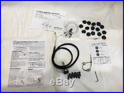 GRS Monarch AT handpiece with accessories and manuals