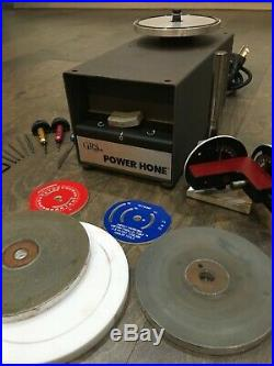 GRS POWER HONE with lindsay sharpening fixture and extras