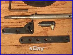 GRS Positioning Vise 7.1 Ball 42 lbs Base & Extras Engraving Jewelry Microscope