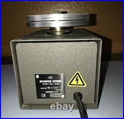 GRS Power Hone Sharpening System GLENDO Corp, Low Usage, 4 Aluminum Wheels, 115V