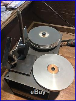 GRS Power Hone with 600 and 1200 Diamond wheels and Sharpening Fixture