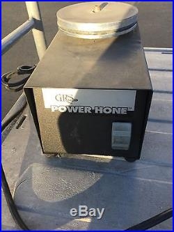 GRS Power Hone with angle sharpening accessory