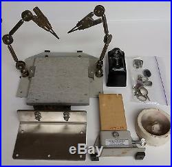 GRS Products Division BenchMate Soldering Station with Double Third Hands + More