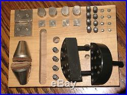GRS Standard Engraving Block 30 Piece Accessory Set Engraving Ball