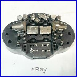 GRS Standard Engraving Block BALL VISE with ATTACHMENTS USE
