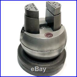 GRS Standard Engraving Block BALL VISE with GRS ring HOLDERS ATTACHMENTS USED