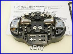 GRS TOOLS 003-530 Standard Block Ball Vise With Accessories FREE USA Shipping