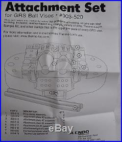 GRS Tools 003-520MPV Attachment Set of 30 for Multi-Purpose Vise 26 PC ONLY