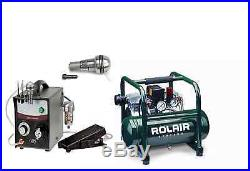 GRS Tools 004-895 GraverSmith with Rolair Compressor, GRS 004-940 Handpiece