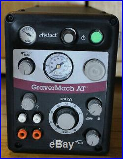 GRS Tools 004-965 Gravermach AT with Foot Pedal & 004-901 QC HandPiece Engraver