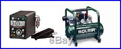GRS Tools 004-965 Gravermach AT with Rolair Compressor