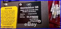 GRS Tools 004-995 GraverMax G8 + 004-940 Magnum Handpiece + Huge Lot of Gravers