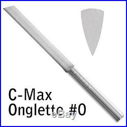 GRS Tools 022-625 C-Max Carbide Onglette Graver #0