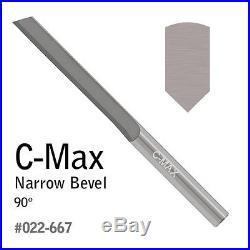 GRS Tools 022-667 C-Max Carbide Graver Narrow Bevel 90
