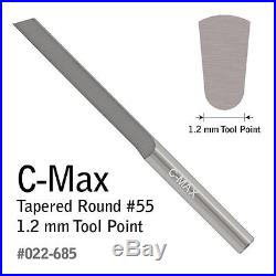 GRS Tools 022-685 C-Max Carbide Tapered Round Graver #55 1.0mm