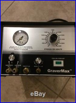 GRS Tools GraverMax Engraving Machine 120 Psi 115V Mint Condition