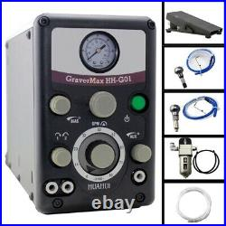 Graver Jewelry Engraver 0-8000 strokes /min GRS Pneumatic Engraving Tools 110V