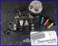 Graver tool set GRS mini vise and set of three gravers